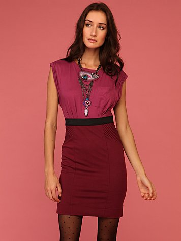 Love City Ponte Dress