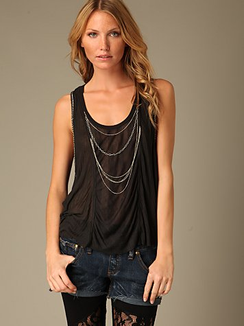 Draping Chains Tank