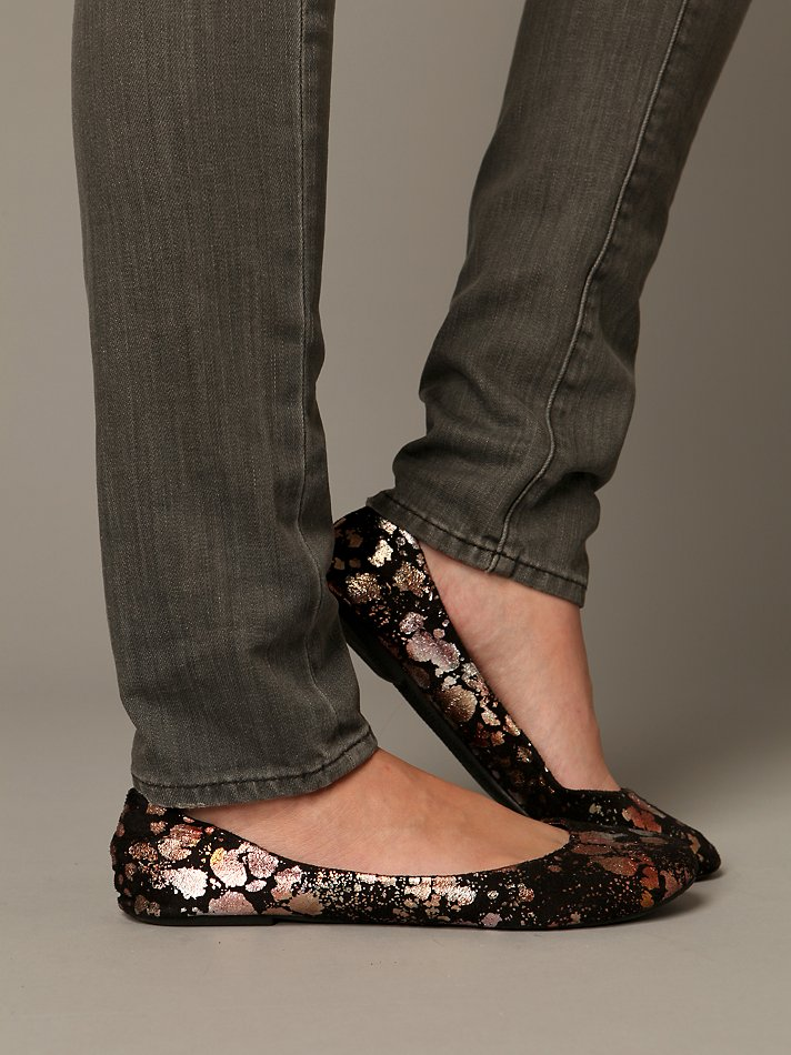 Free People Clothing Boutique > Paint Splatter Flat :  flat footwear free people shoes