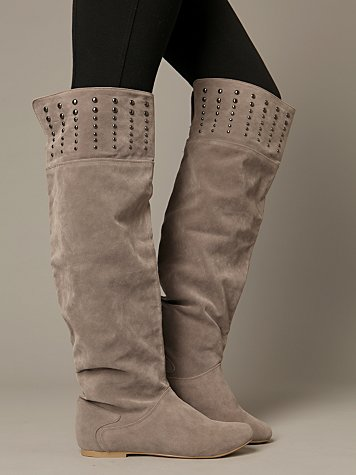 Bentley Over The Knee Boot :  suede boot boots