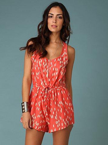 Dolce Vita Cornelia Romper :  fashion trend beachwear shorts