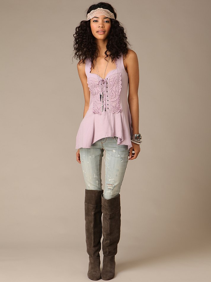 Free People -  We The Free Zella Corset Tank