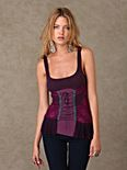 Pieced Together Corset Tank