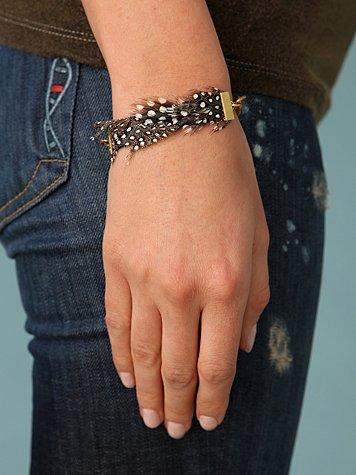 Light Feather Bracelet