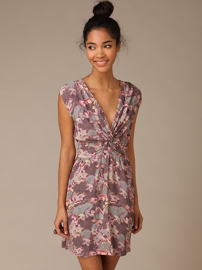 Shakuhachi Floral Swing Dress at Free People Clothing Boutique :  floral mini floral print shakuhachi