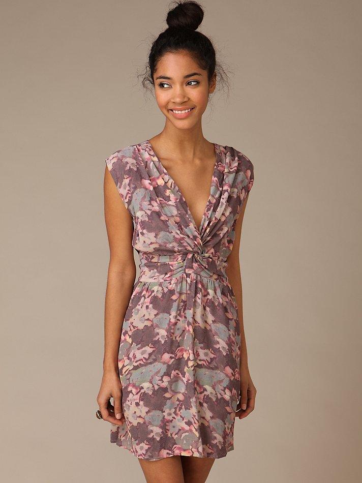 Shakuhachi floral swing dress beautiful floral printed woven dress