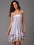 Streamer Ruffle Dress