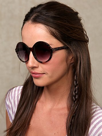 Circles Sunglasses at Free People Clothing Boutique :  eyewear circle sunglasses glasses shades