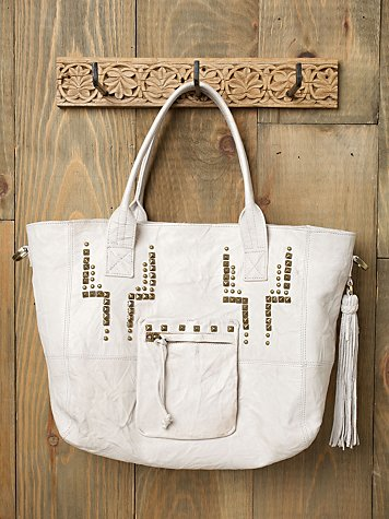 Zelda Studded Tote :  zelda tote tote leather tote summer tote