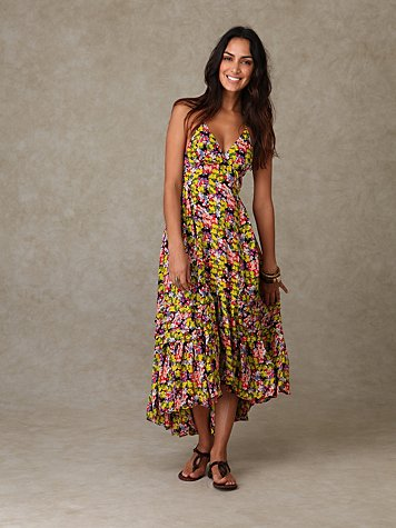 Painted Landscapes Dress at Free People Clothing Boutique :  floral
