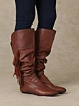 Tessa Fringe Tall Boot