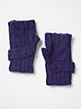 Cable Fingerless Glove