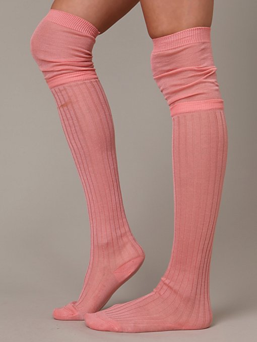 Leona Layered Tall Sock