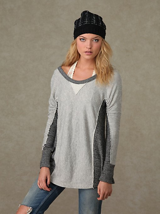 Long Sleeve Break Time Tunic