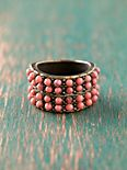 Beaded Road Ring