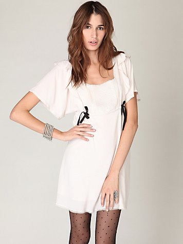 Ruffled Nightingale Dress at Free People Clothing Boutique XS or Sm