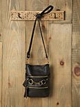 Double Zip Tassel Crossbody