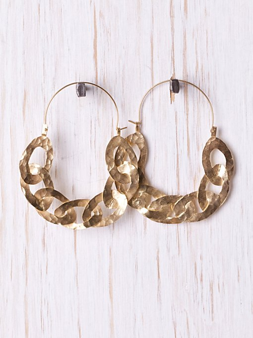 Royal Link Earring