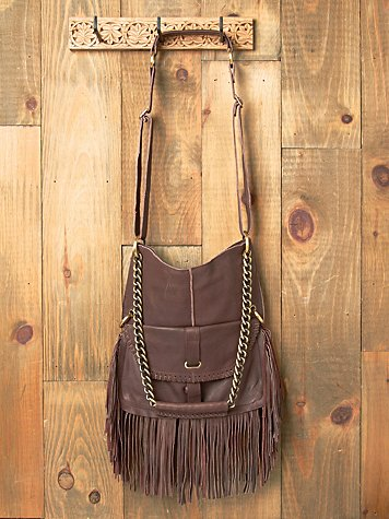 Cut N Paste Lia Fringe Chain Tote