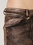 Doma Leather Shorts