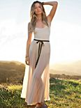 FP ONE Wrapped In Pleats Maxi Skirt