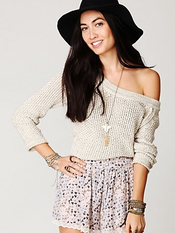 Marled Yarn Pullover at Free People Clothing Boutique