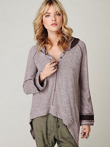 Trapeze Hooded Pullover
