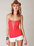 Pretty Woman Ruched Tube Top