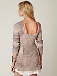 Scoop Back Knit 2fer Tunic