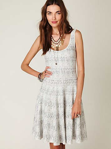 FP Spun Speckled Scuba Dress
