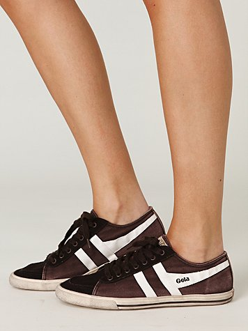 Retro Classic Sneaker at Free People Clothing Boutique :  sneakers shoes gola rubber sole