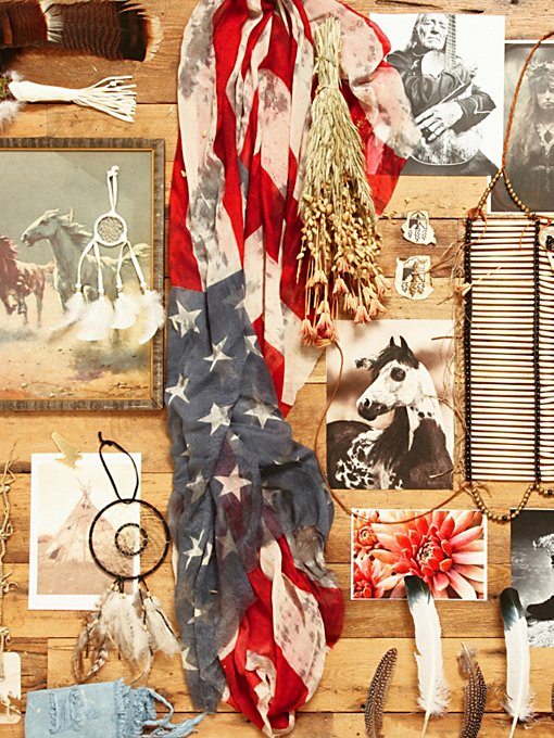 Faded Flag Scarf