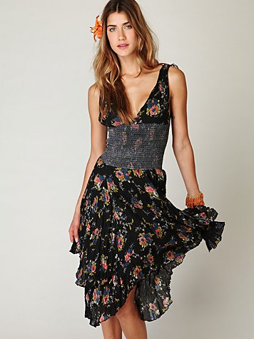 FP ONE Sunflower Wisteria Dress