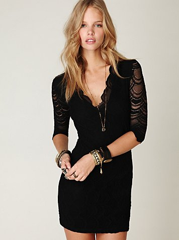 Nightcap Lace Bodycon Dress