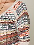 Striped Boxy Pullover