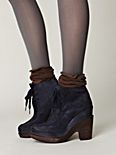 Hoss Stacked Platform Ankle Boot