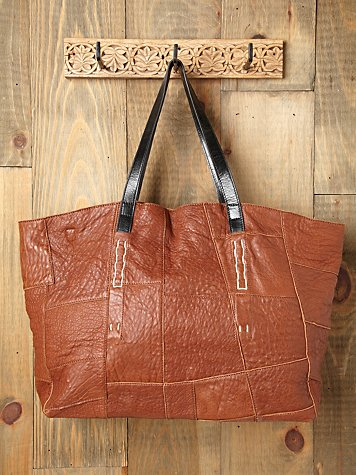 Free People Lexi Patched Tote