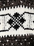 Cropped Fairisle Pullover