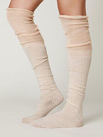 Mesh Ballet Tall Sock