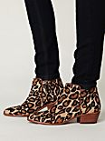 Petty Leopard Ankle Boot