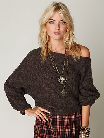 Easy Days Off the Shoulder Sweater