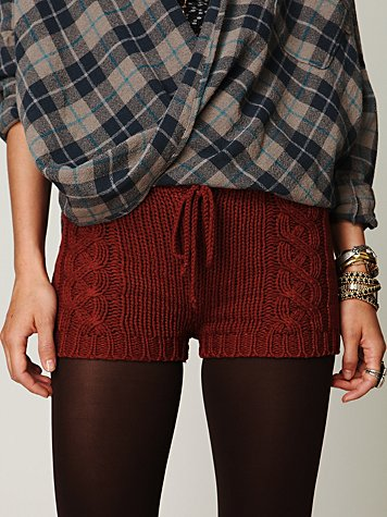 TheBirdandTheMachine: Knitted Shorts
