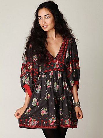 Maharani Bubble Sleeve Dress