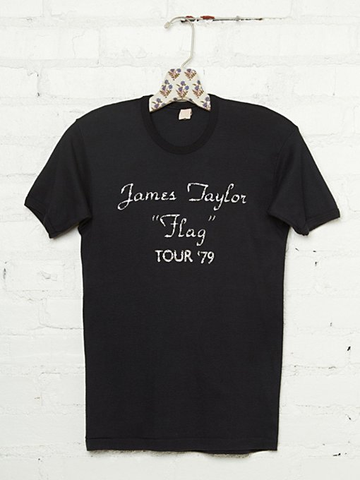 Vintage Studded 1979 James Taylor Tee in vintage-loves-clothes