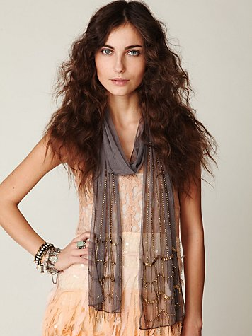 Chains & Sequins Scarf