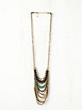 Draped Stone Necklace