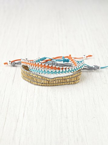 Free People Studded Bracelet Set