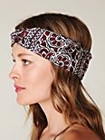 Printed Silk Turban