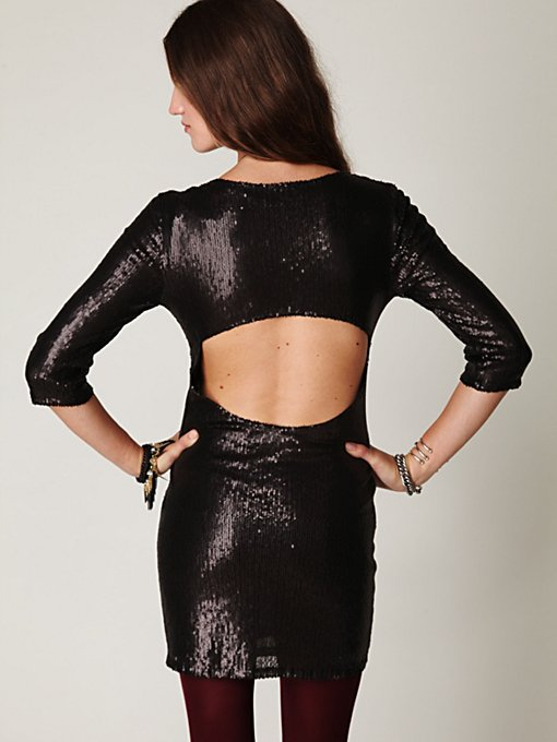 Sequin Sway Dress