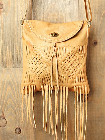 Cut N' Paste Janie Fringe Satchel